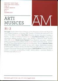 Arti musices : hrvatski muzikološki zbornik = Croatian musicological review.