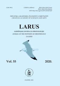 Larus : godišnjak Zavoda za ornitologiju Hrvatske akademije znanosti i umjetnosti.