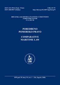 Poredbeno pomorsko pravo = Comparative maritime law.