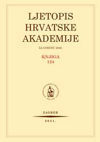 Ljetopis Hrvatske akademije znanosti i umjetnosti za godinu 2020.