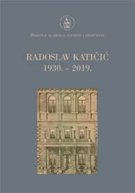 Katičić, Radoslav