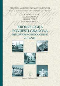 Kronologija povijesti gradova bjelovarsko-bilogorske županije
